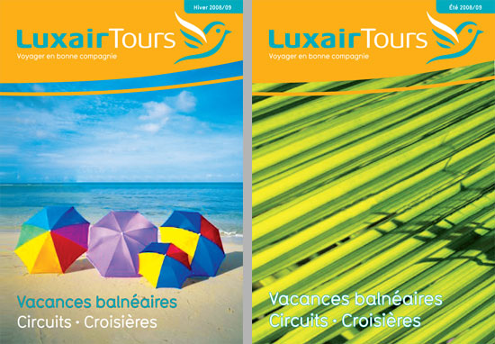 LuxairTours Brochure Drafts
