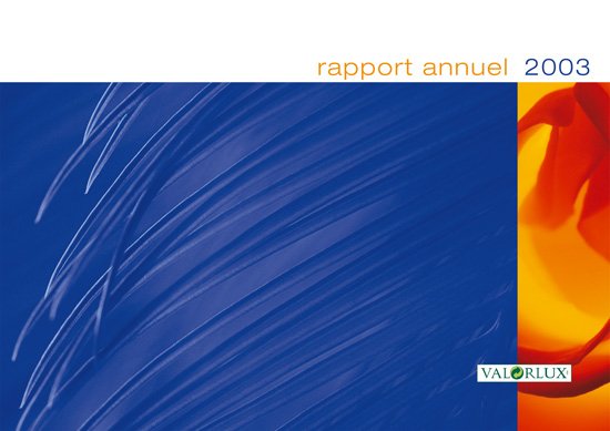 Valorlux Annual Report cover